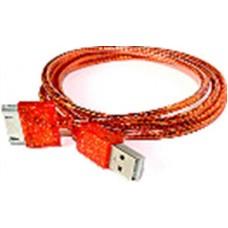 Кабель USB для IPHONE 4 ароматный (1 м) i-815