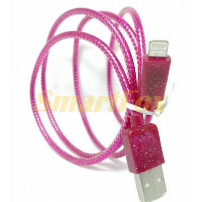 Кабель USB/IPHONE 5 ароматный i-818 (1 м)
