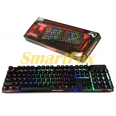 Клавиатура проводная профессиональная игровая с подсветкой AT-6300
