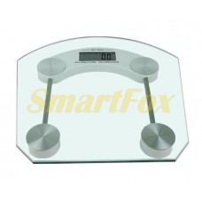 Весы цифровые напольные квадратные стеклянные 2003B (до 180кг, толщина 6мм)