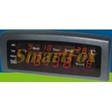 Часы настольные 868-1 с красной подсветкой