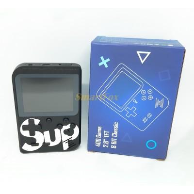Портативная игровая приставка Game box Sup 400в1+AV черная