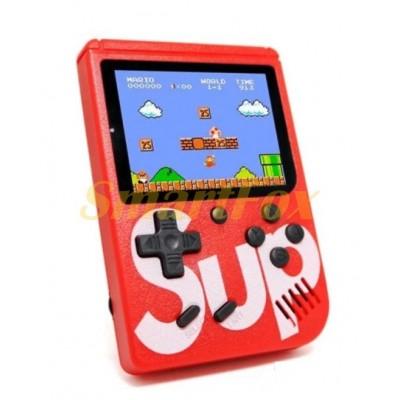 Портативная игровая приставка Game box Sup 400в1+AV красная