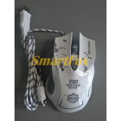 Мышь проводная игровая Z3 Белый