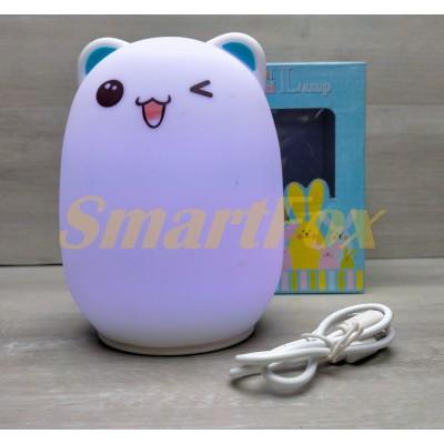 Ночник силиконовый Colorful Silica Gel Lamp (без возврата, без обмена)