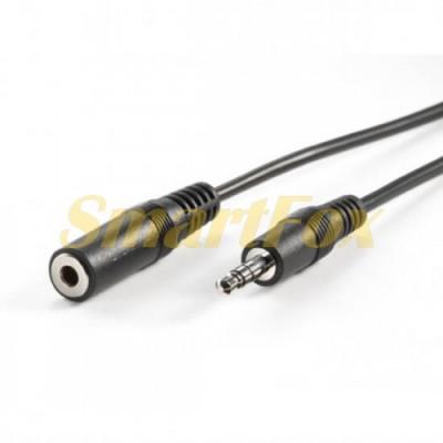 Кабель аудио 3,5 мм M/F удлинитель (5 м)