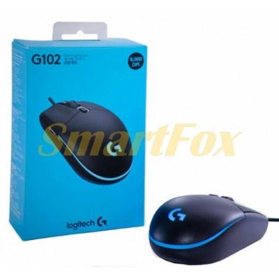 Мышь проводная LOGITECH G102