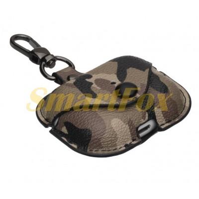 Футляр для наушников Airpod PRO Camouflage Leather