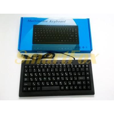 Клавиатура проводная мультимедийная 838 Slim