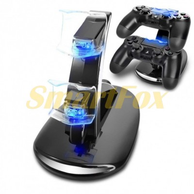 Подставка и зарядка для джостиков PS4