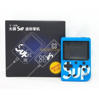 Портативная игровая приставка SUP 400в1 +джойстик (играть вдвоем) СИНИЙ