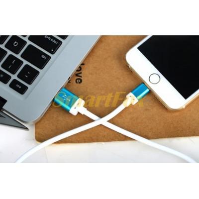 Кабель USB/TYPE-C REDDAX RDX-305 BLUE (1,2 м)