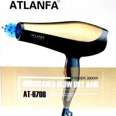 Фен для укладки волос c насадкой AT-6708 2600W