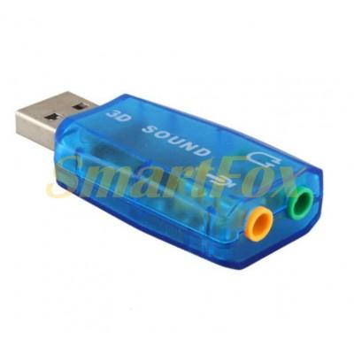 Звуковая карта USB 5.1 CH
