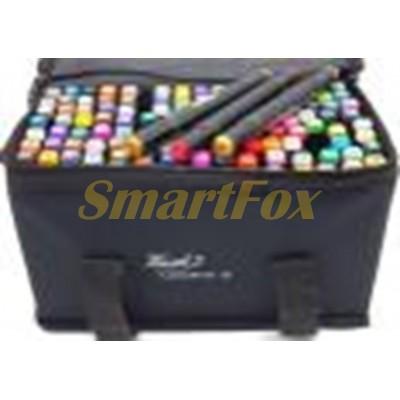 Маркер для скетчинга SKETCH MARKER в тканевом чехле набор 120 цветов (цена за 1шт, продажа только уп