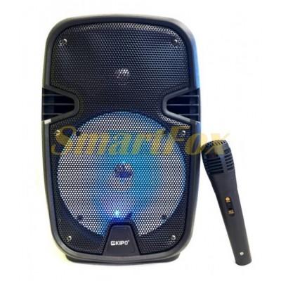 Портативная колонка Bluetooth в виде чемодана KIPO KB-Q9 (33,5х20,2х19,3 см)
