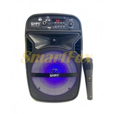 Портативная колонка Bluetooth в виде чемодана KIPO KB-Q10 (33,5х20,2х19,3 см)