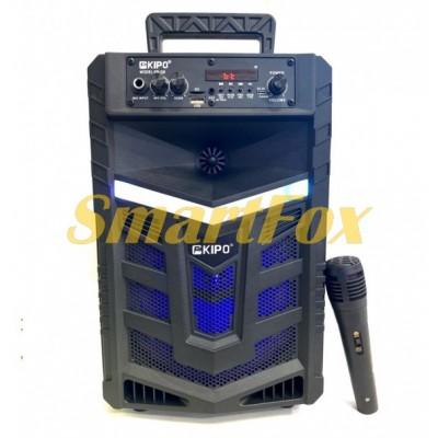 Портативная колонка Bluetooth в виде чемодана KIPO KB-Q8 (36,2х23,2х20,5 см)