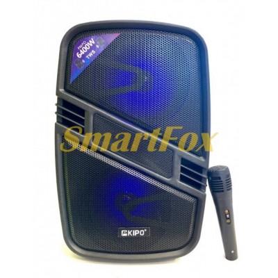 Портативная колонка Bluetooth в виде чемодана KIPO KB-Q6 (40х25х21 см)