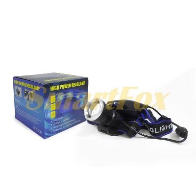 Фонарь налобный Bailong 2х18650 BL-T24-P50