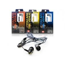 Наушники вакуумные с микрофоном DK74i