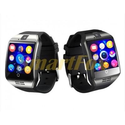 Часы Smart Watch Q18 (черные и серебро)