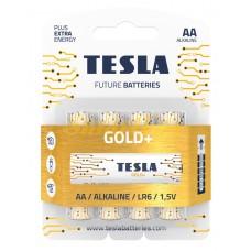Батарейка Tesla GOLD LR06 (цена за 1шт, продажа упаковкой 4шт)