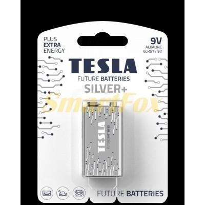 Батарейка Tesla Silver 6LR61 крона (цена за 1шт)