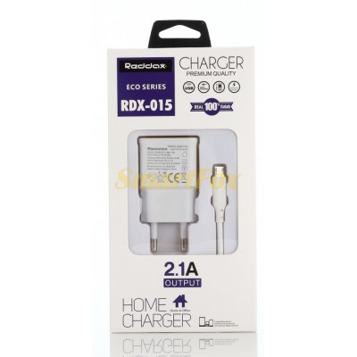 СЗУ USB 2,1A REDDAX RDX-015 WHITE