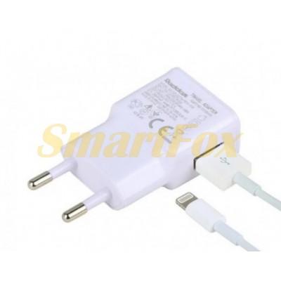 СЗУ USB 2,1A REDDAX RDX-015 с Lightning WHITE