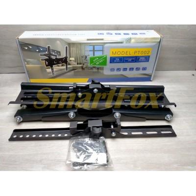 Крепеж настенный для телевизора PT002 с поворотом и наклоном (26