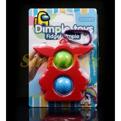 Игрушка-антистресс Pop it Simple Dimple USTX-202