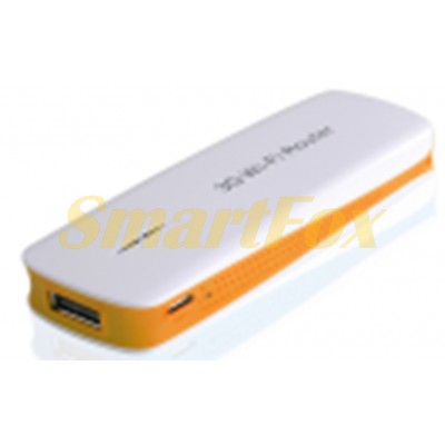 Роутер Wi-Fi мобильный с поддержкой USB модема, Power Bank и выходом под сетевой кабель rj45 5200mAh