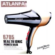 Фен для укладки волос c насадками AT-6705 3000w