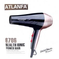 Фен для укладки волос c насадками AT-6706 2600w