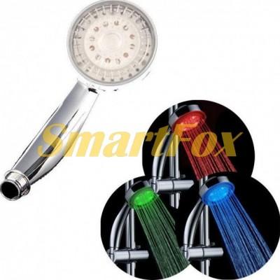 Лейка душа со светодиодной подсветкой led shower SJ-181