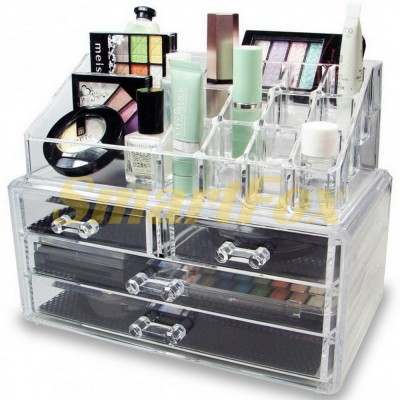 Органайзер для косметики Cosmetic Storage Box на 4 ящика SJ-231