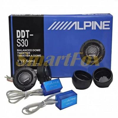 Автоакустика пищалки ALPINE DDT-S30