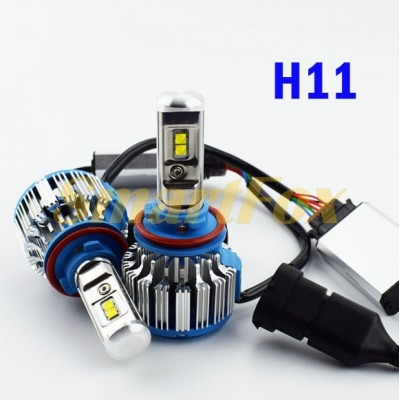 Автомобильные лампы LED T1-H11  (2шт.)