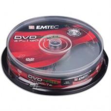 Emtec DVD-RW 4,7 GB 4x Cake box/10