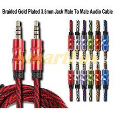 Кабель аудио 3,5 мм/3,5 мм AUDIO CABLE (1 м) (91158)