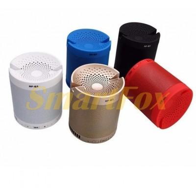 Портативная колонка Bluetooth HF-Q3 + подставка для телефона