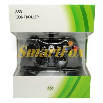 Игровой манипулятор (джойстик) X-BOX 360 проводной джойстик Black
