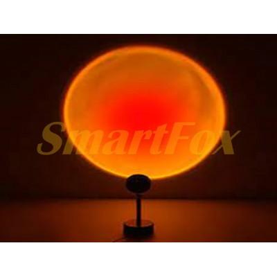 Ночник SUNSET RED Sunset Floor Lamp Sunset Lamp Rainbow Modern Bedroom