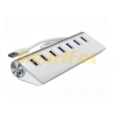 Хаб USB 3.0 на 7 портов 7301 Aluminium
