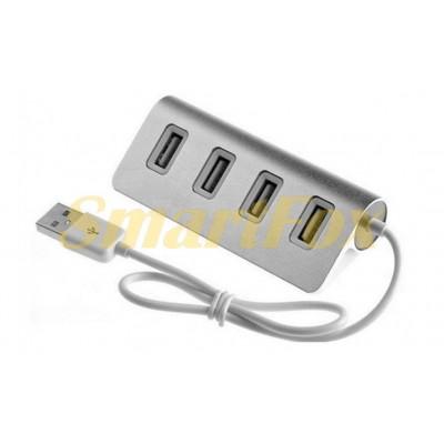 Хаб USB 3.0 на 4 порта 4301 Aluminium