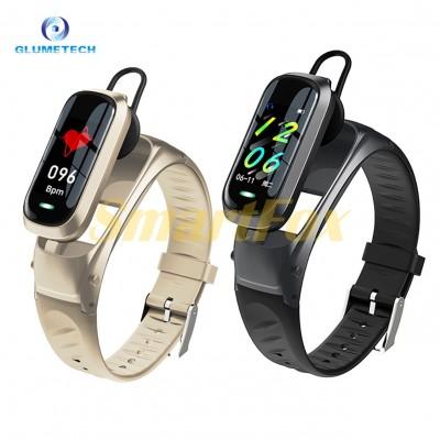 Часы фитнес браслет-трансформер с гарнитурой bracelet B9 Bluethooth call