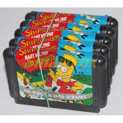 Картридж 16-bit SIMPSON BART VS.