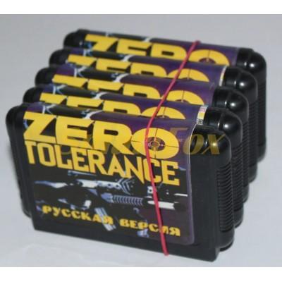 Картридж 16-bit ZERO TOLERANCE
