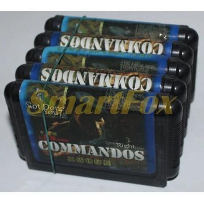 Картридж 16-bit COMMANDOS
